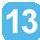 Linea 13 XXV Luglio (Capolinea), Lo Re, Marche, Leuca, T. Nuovi, Leuca, Marche, Stazione FF. SS., Otranto, Cavallotti, De Pietro, Foscolo, Po, Indipendenza, Basento, Leopardi, S.D. Savio, Biasco, Vecchia Frigole, Leopardi, Basento, Indipendenza, Po, Foscolo, P. Napoli, De Pietro, XXV Luglio.