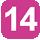 Linea 14 Porta Napoli (Capolinea), Dell'Università, De Jacobis, Massaglia, Monteroni, Città di Lecce, Tangenziale Ovest, Villa Convento, Dell'Agricoltura, Della Repubblica, D. Birago, Gallipoli, Stazione F.F.S.S., Marche, Leuca, Otranto, Cavallotti, De Pietro, Calasso, Porta Napoli.