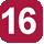 Linea 16 A.Moro (Capolinea), Benevento, Machiavelli, Bari,  Palio, Siracusa, G. Paolo II, Leopardi, Foscolo, P.Napoli, De Pietro, XXV Luglio, Lo Re, Gallipoli, Stazione FFSS, Gallipoli, Rudiae, S.Pietro in Lama, Lequile, Ospedale, S.Cesario, Cavallotti, Palio, A. Moro.