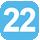 Linea 22 Cavallotti (Capolinea), De Pietro, U. Foscolo, Po, Indipendenza, Basento, Leopardi, S. D. Savio, Dei Salesiani, Biasco, Vecchia Frigole, Giammatteo, Basento, Indipendenza, Po, U. Foscolo, Porta Napoli, De Pietro, XXV Luglio, Cavallotti.