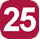 Linea 25 A.Moro (Capolinea), Benevento, Torino, Machiavelli, Verona, Palio, I. Adriano, XXV Luglio, Lo Re, Gallipoli, Stazione F.F.S.S., Grassi, S.Cesario, Ospedale (Capolinea), S.Cesario, Otranto, Cavallotti, I. Adriano, Palio, A. Moro.