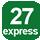 Linea 27 Espressa Porta Napoli (Capolinea), Dell'Università, De Jacobis, Massaglia, Monteroni, Ecotekne, Fiorini, Monteroni, Massaglia, Rudiae, Diaz, Dell'Università, Calasso, City Terminal (ex Foro Boario), Porta Napoli.