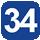 Linea 34 Stazione F.F.S.S. (Capolinea), Marche, Alfieri, Rossini, Gentile, A. Moro, Benevento, Avellino, Torino, Machiavelli, Bari, Palio, Siracusa, Pisoia, Lucca, Dello Stadio, Leopardi, Indipendenza, Porta Napoli, Dell'Università, Gallipoli, Stazione F.F.S.S.